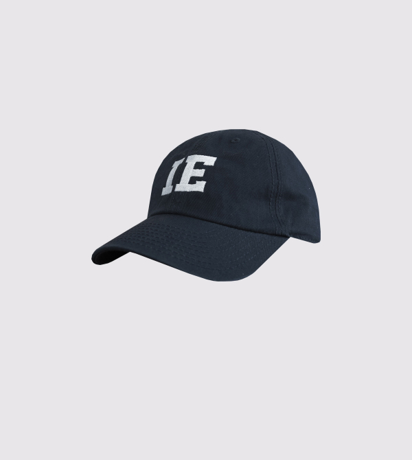 Gorra IE 1973 para Niño de color navy front