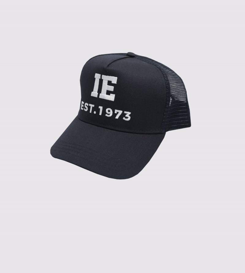 IE 1973 Rapper Cap. Navy color front