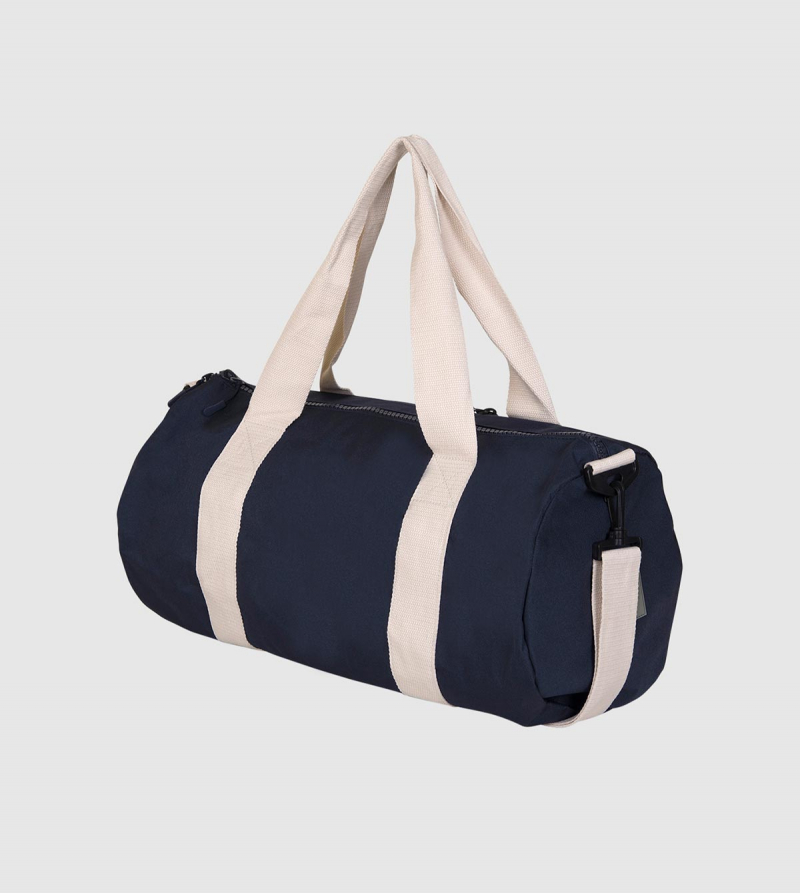 IE Eco Gym Bag. Blue color back