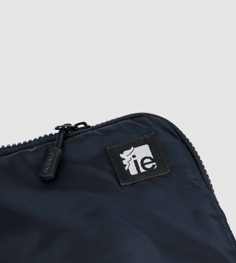 "IE Macbook Case 13"". Navy color back"