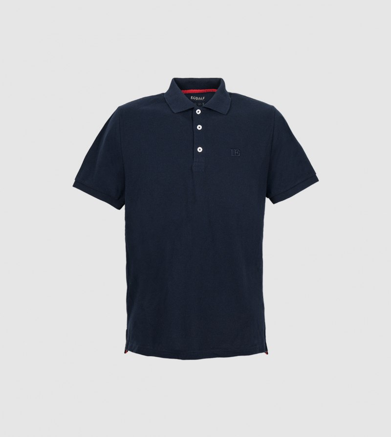 IE Polo. Navy color front