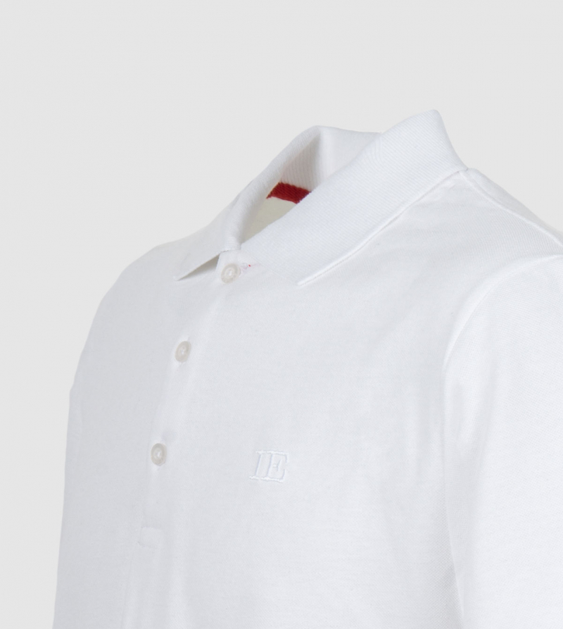 IE Polo. White color zoom