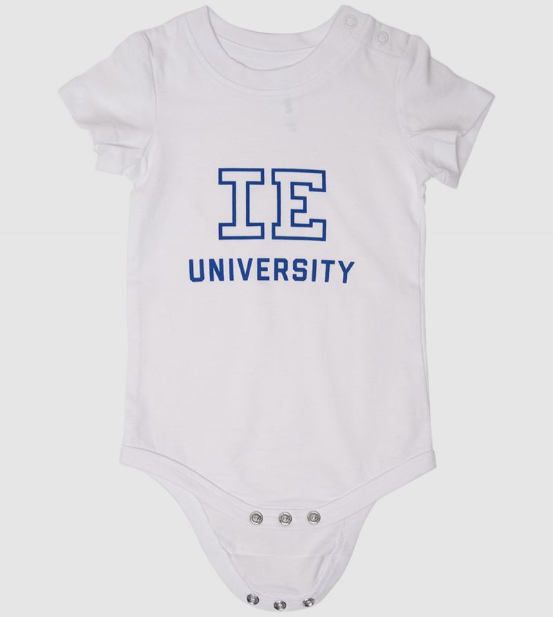 IE University Baby Body. White color zoom