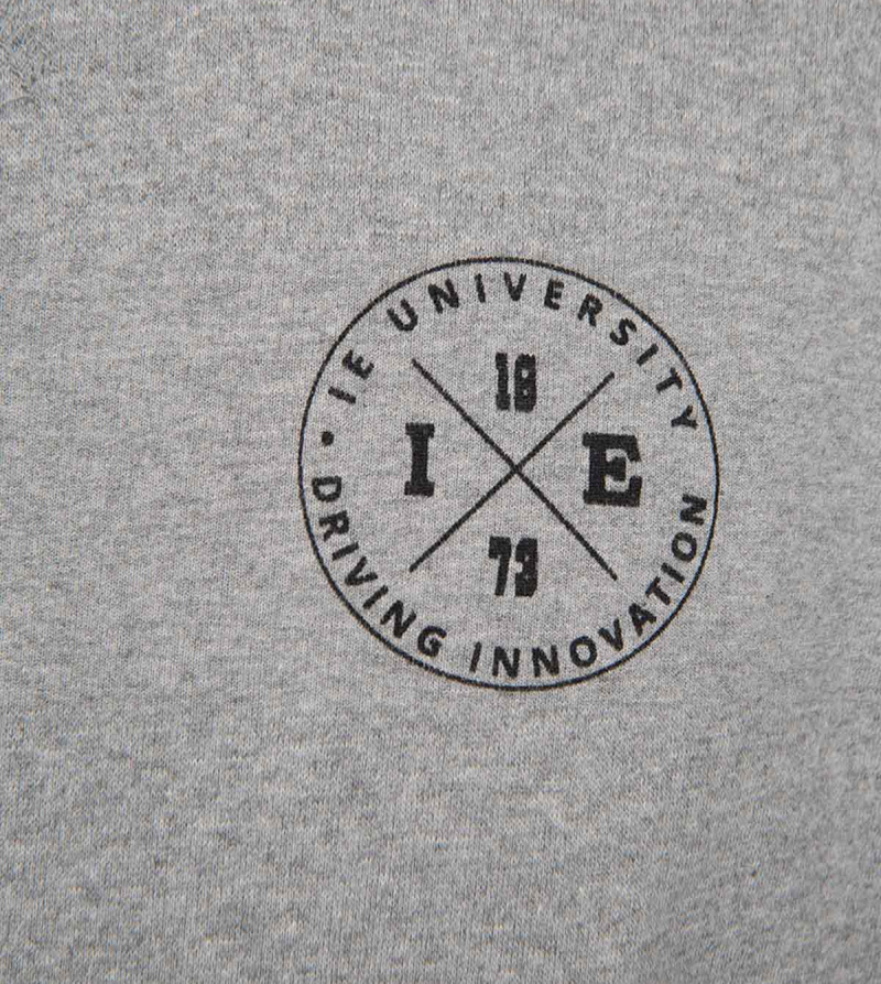IE University Women's Sweatshirt. Grey color zoom