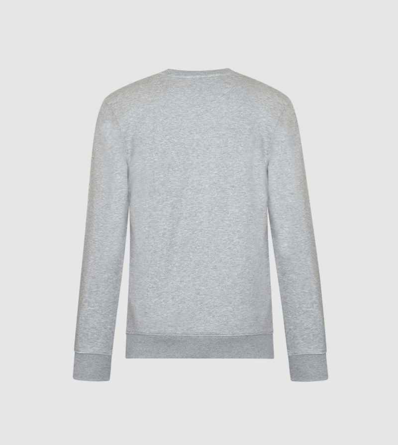 Sudadera Unisex IE Business School de color gris back