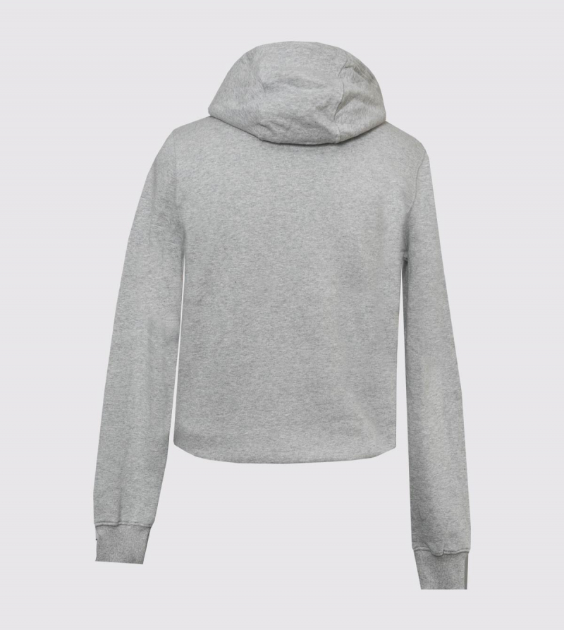 IE University Hoodie. Grey color back