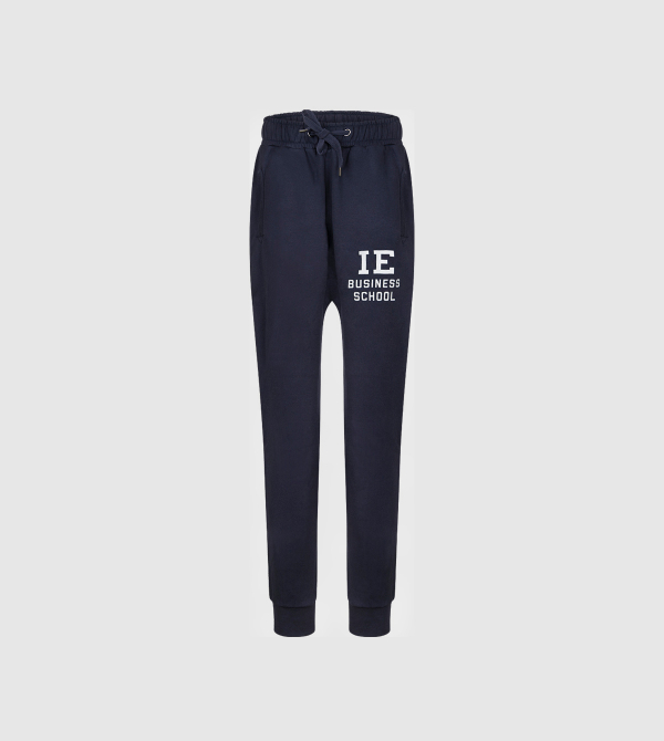 Pantalones IE Business School de color navy front