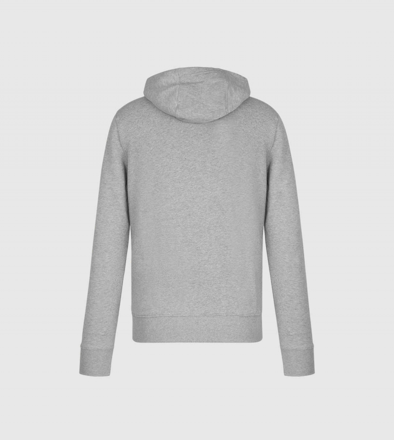 IE Law Hoodie. Grey color back