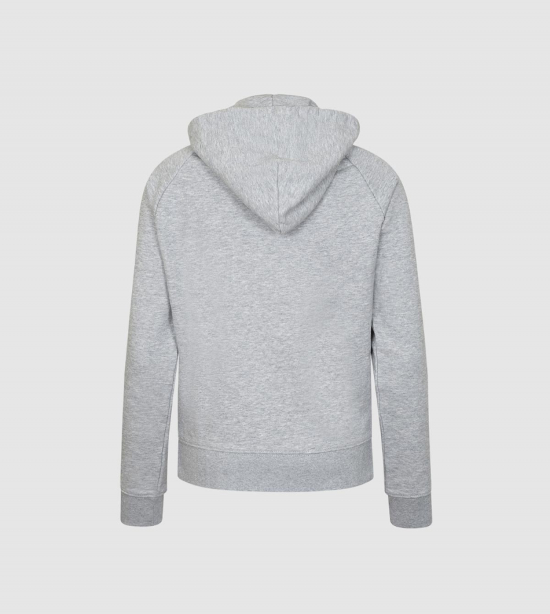 IE Business School Women's Hoodie. Grey color back