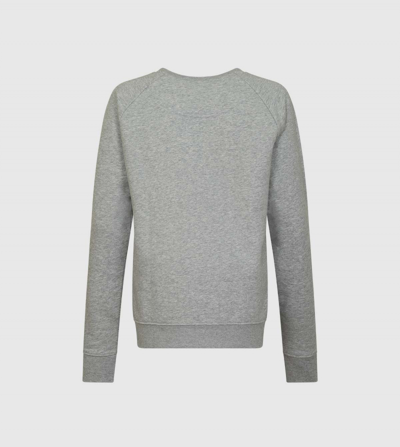 IE University Sweatshirt. Grey color back
