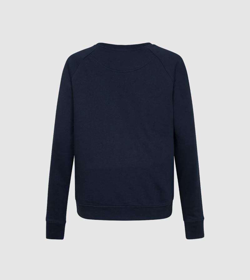 IE University Sweatshirt. Navy color back