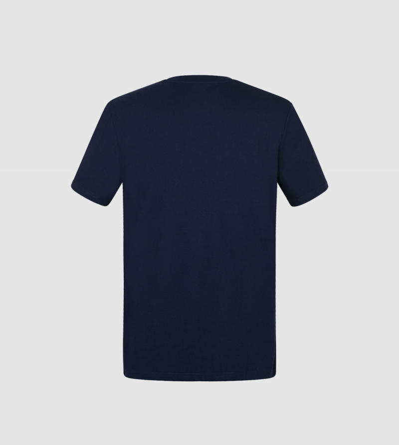 IE Business School Unisex T-Shirt. Navy color back