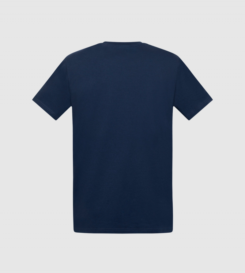 Camiseta IE. Color navy back