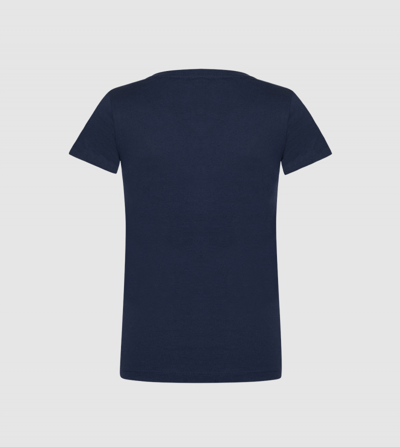 Camiseta de Mujer IE Business School de color navy back