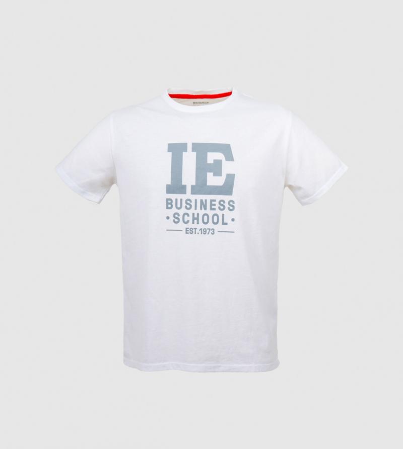 IE Business School Men's T-shirt. White color zoom