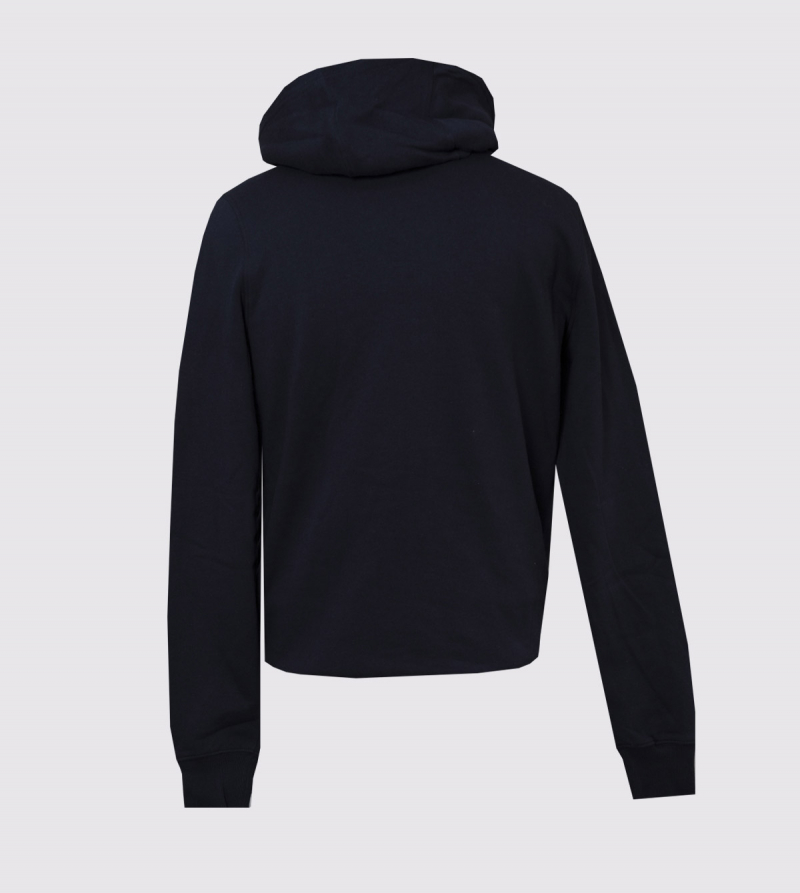 Spencer IE University Hoodie. Navy color back