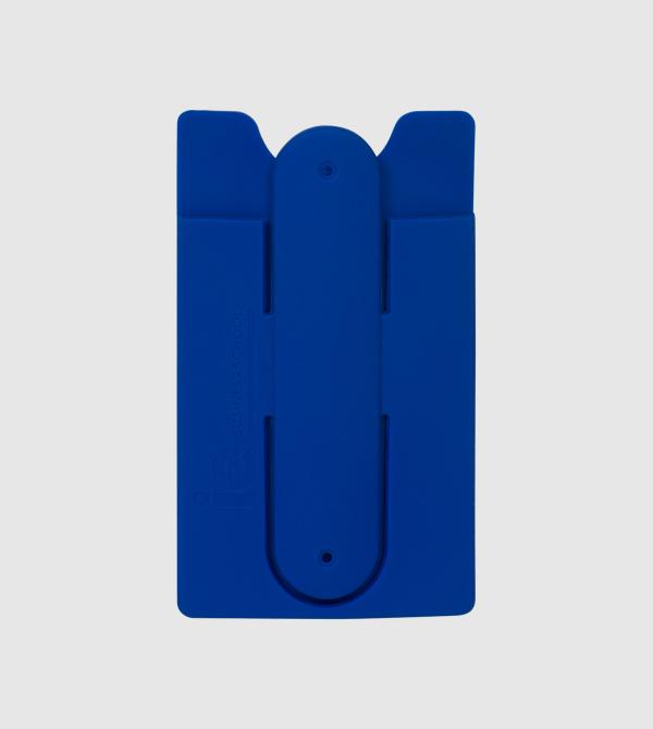 Soporte para Movil IE. Color azul front