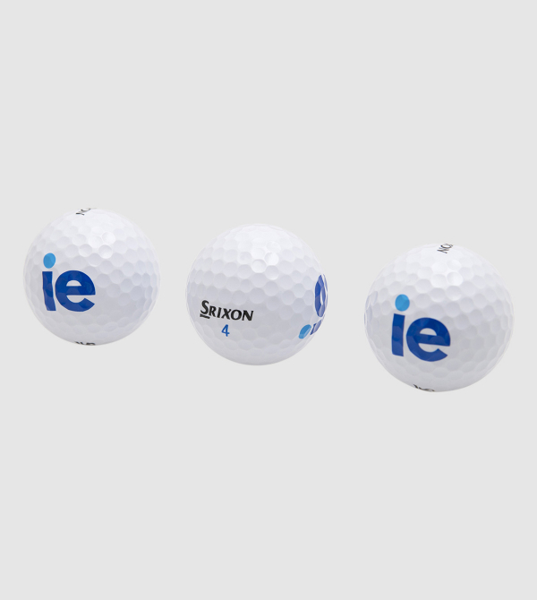 IE Srixon Ad333 Golf Balls . White color front
