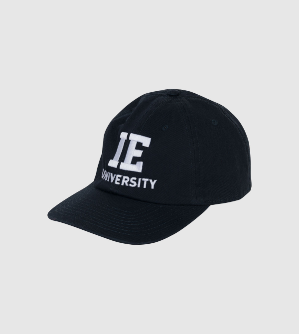 Gorra Atlantis IE University. Color navy front