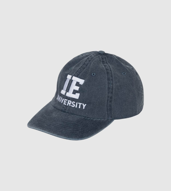 IE University Cap. Navy color front