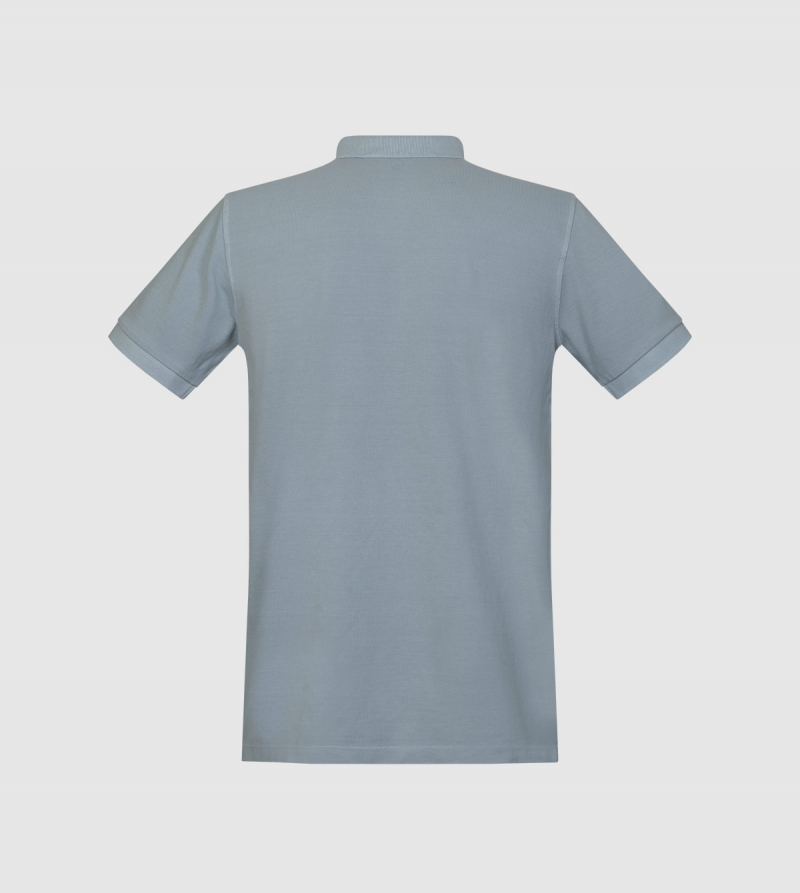 Polo Tibet IE University. Color gris back