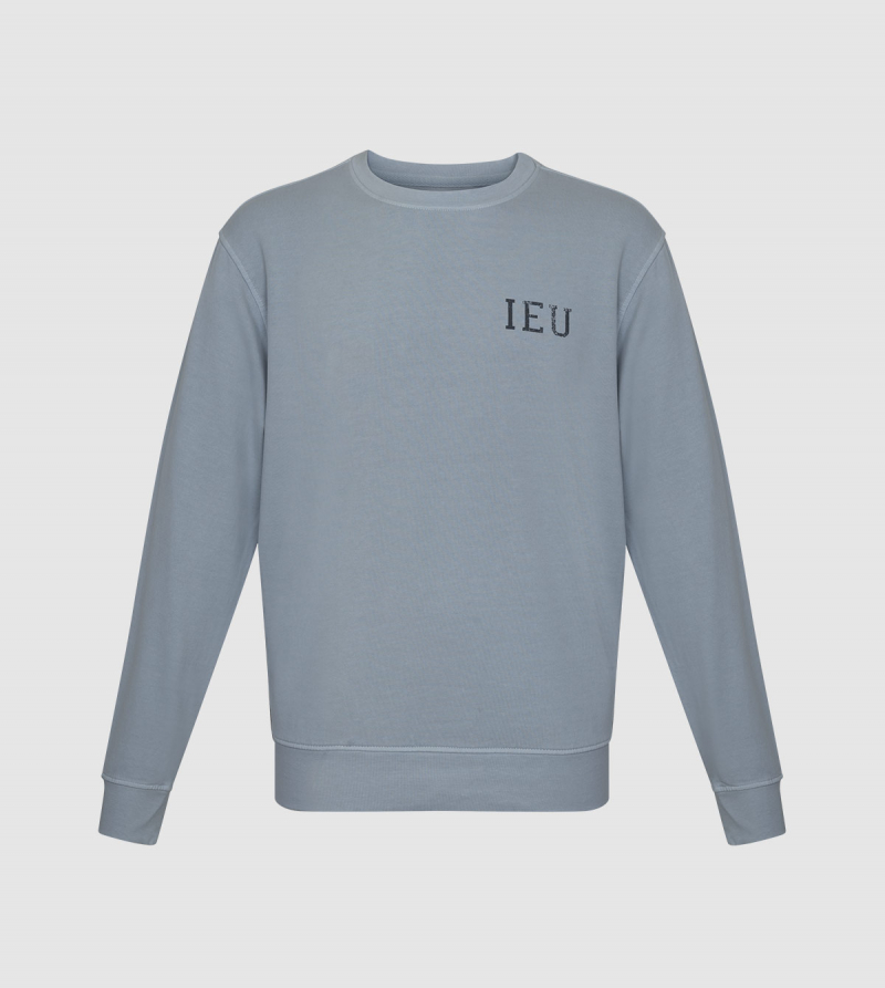 Sudadera Nilo IE University. Color gris back