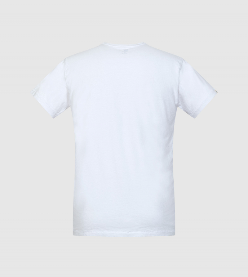 Camiseta Zeus IE University. Color blanco back