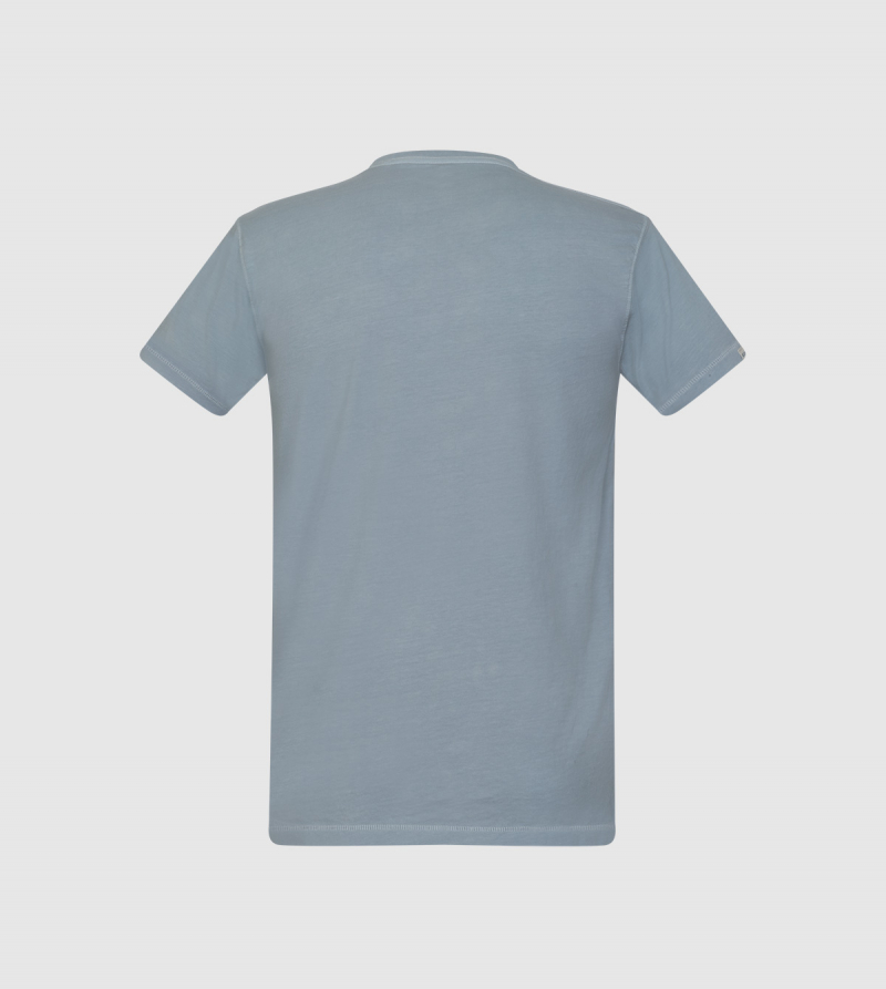 Poseidon IE University T-shirt. Grey color back