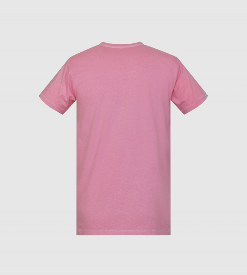 Poseidon IE University T-shirt. Pink color back