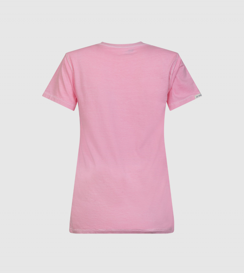 Atenea IE University T-shirt. Pink color back