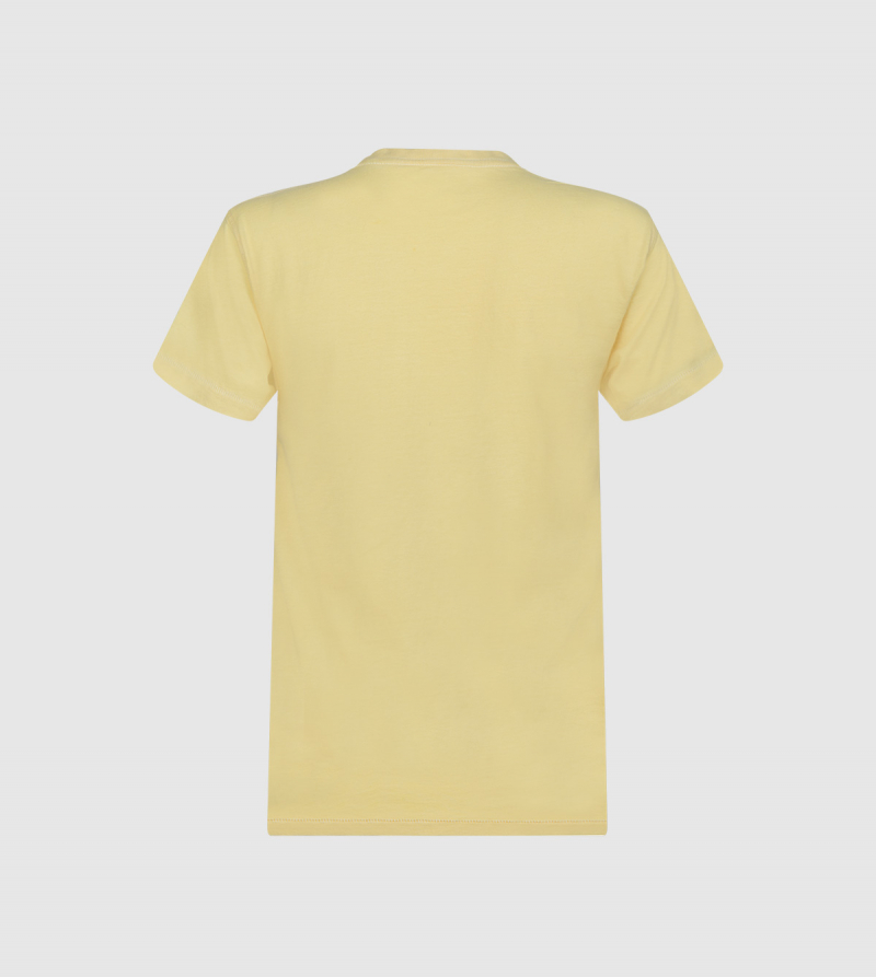 Atenea IE University T-shirt. Yellow color back