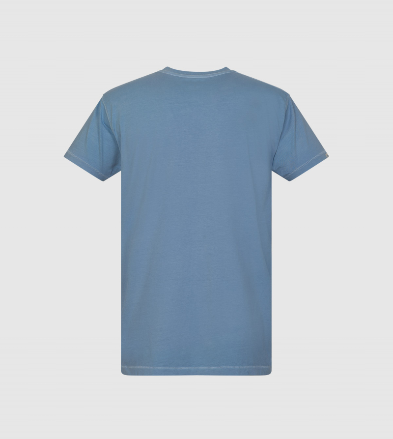 """We Are IE"" T-shirt . Light blue color back"