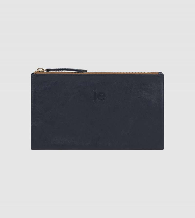 IE Wallet Bag. BLUE colour front