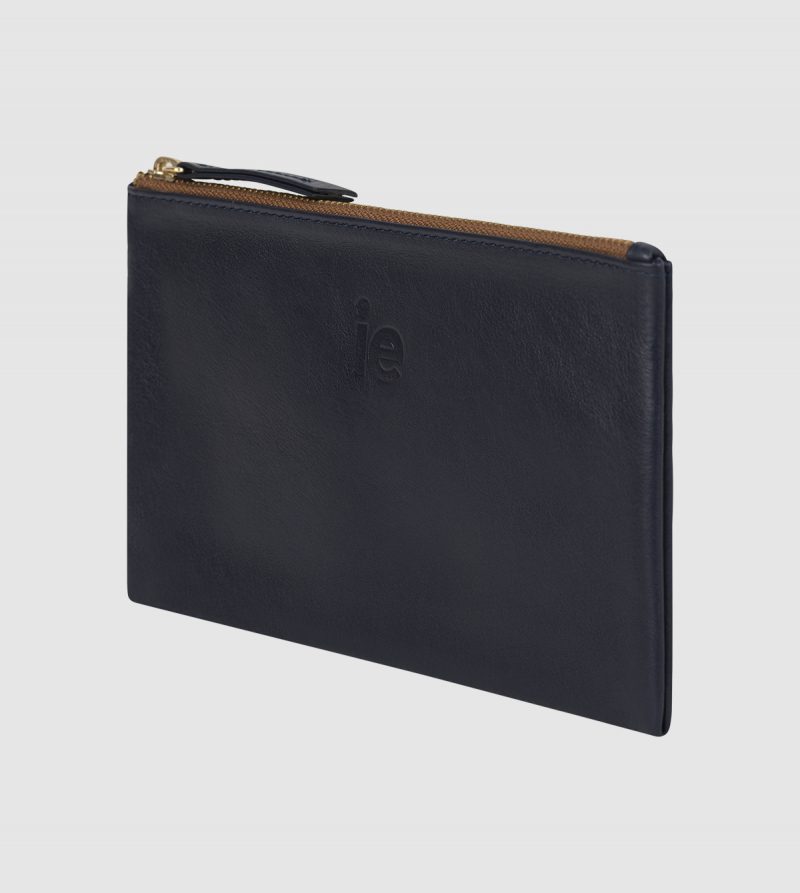 IE Wallet Bag. NAVY colour back