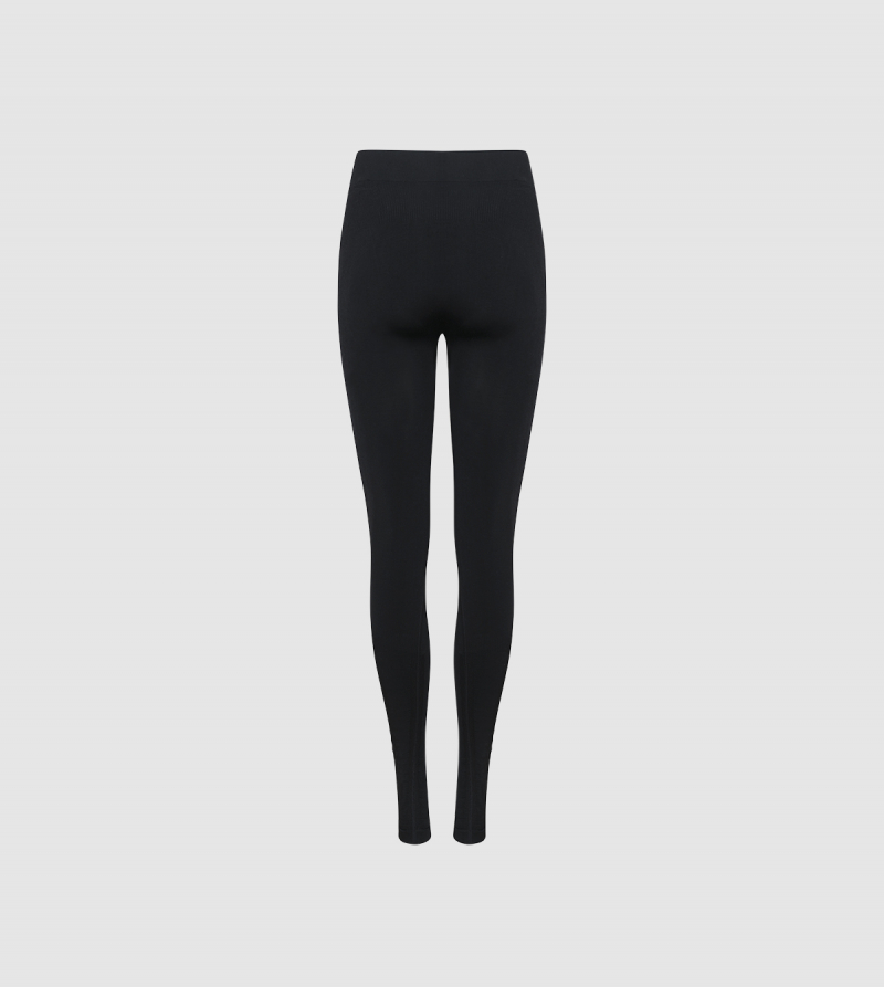 IE Seamless Tights . black colour back