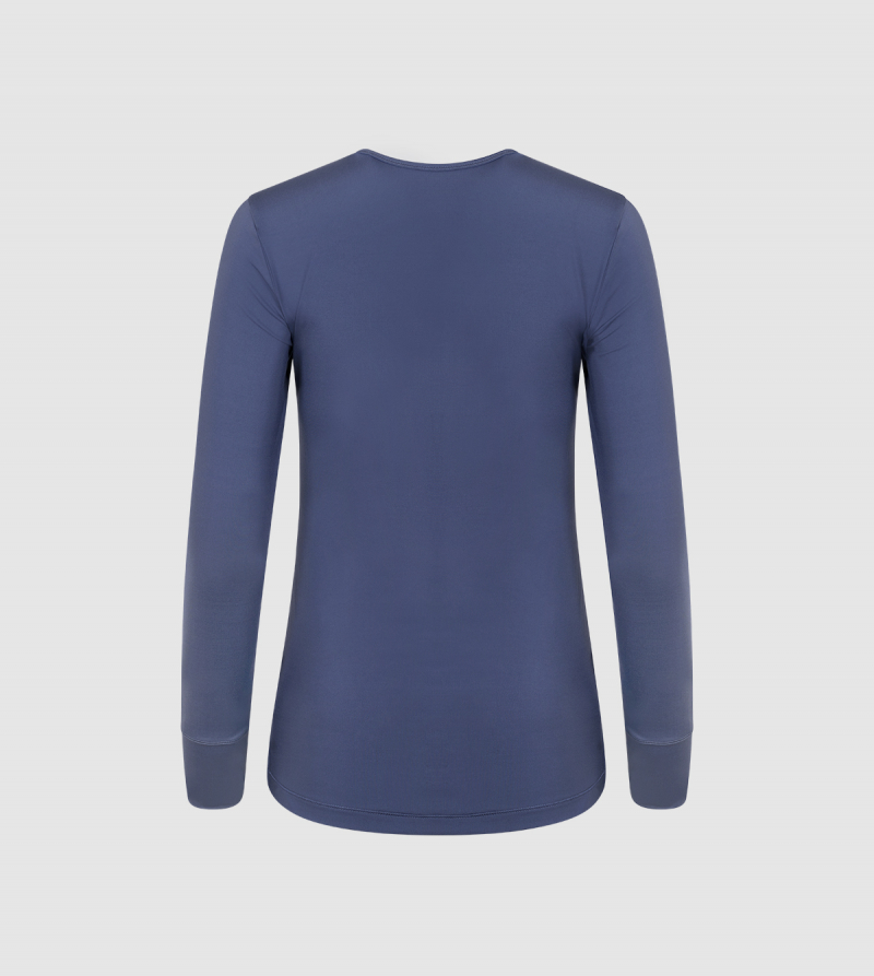 IE Essential Women's Long Sleeve T-shirt Back