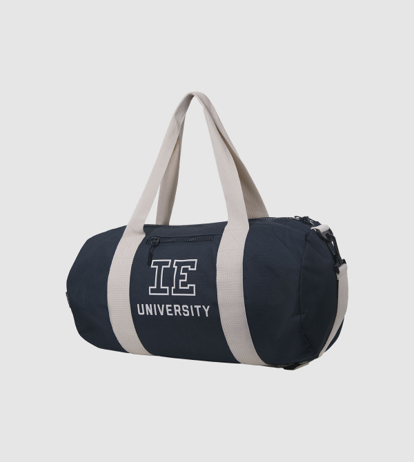 IE University Sport Bag. night blue colour front