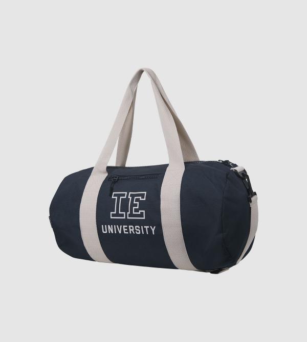 IE University Sport Bag. night blue colour front