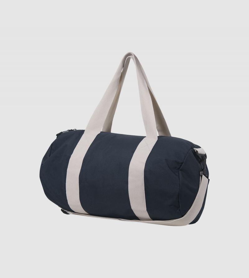 IE University Sport Bag. night blue colour back